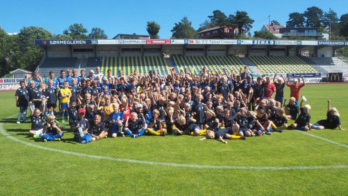 FK Jerv inviterer til Fotballskolen 2018!