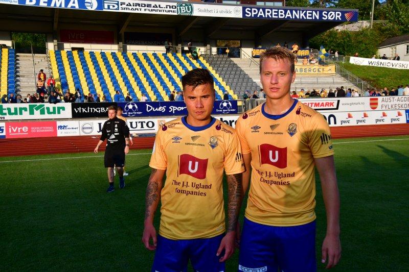 Dagens målscorere: Alexander Dang og Ole Marius Håbestad